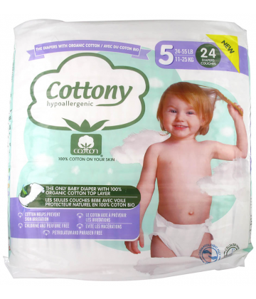Cottony Baby Diapers Size 5 11 - 25kg 24