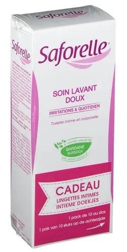 Saforelle Soin Lavant Doux 250ml+ling Intim Pocket