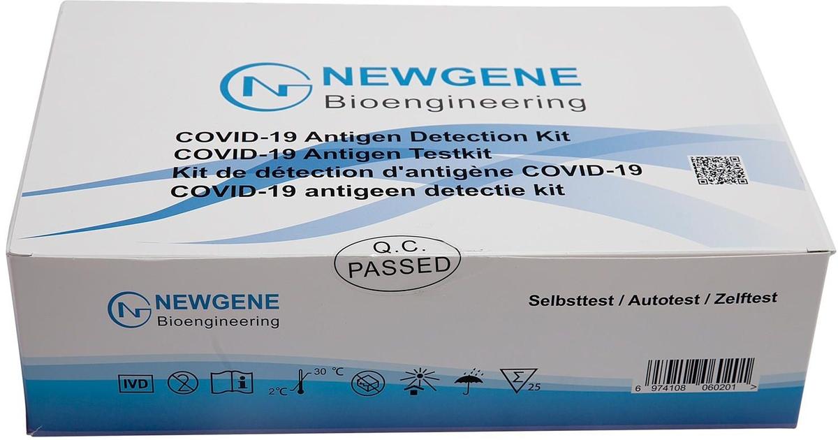 Newgene Bioengin.kit A/gene Test Covid-19 5 O'life