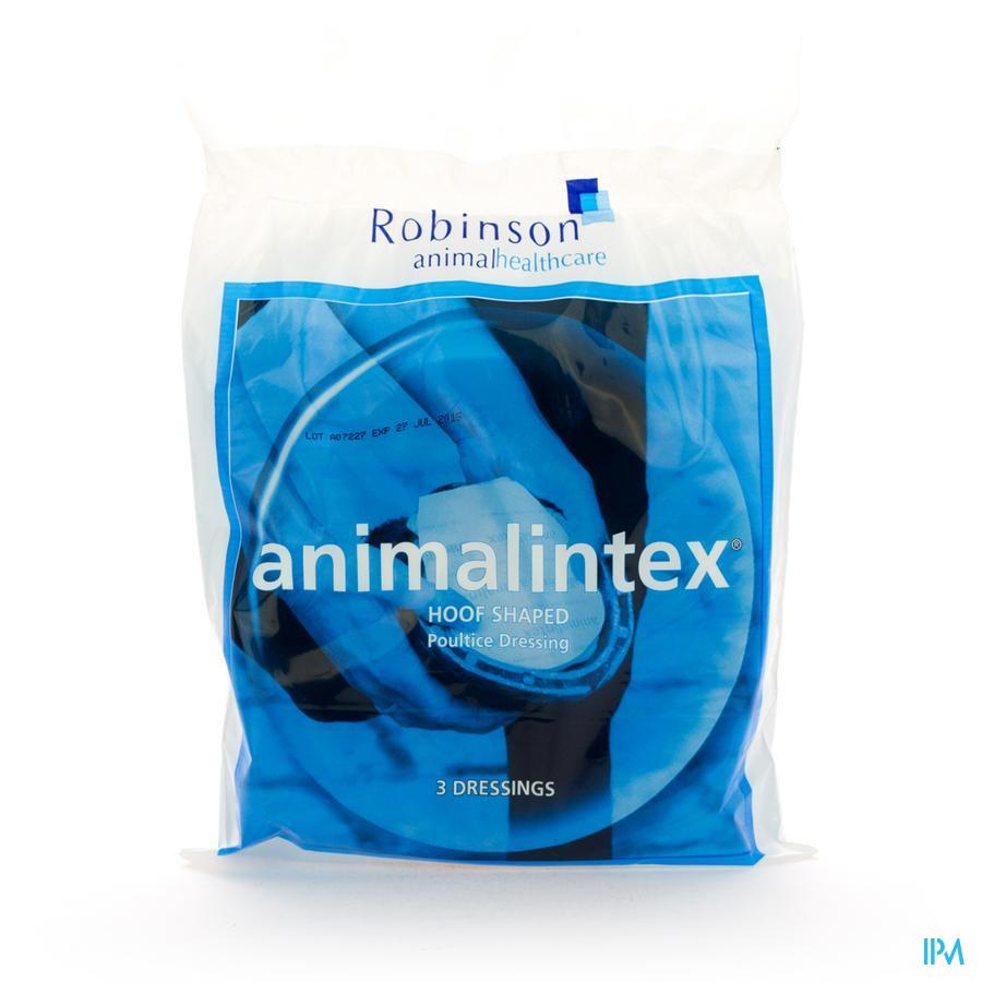 Animalintex Hoof Shaped 3 Vmd