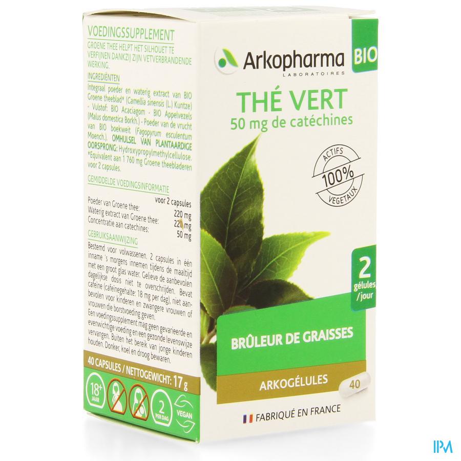 Arkogelules The Vert Bio Caps 40