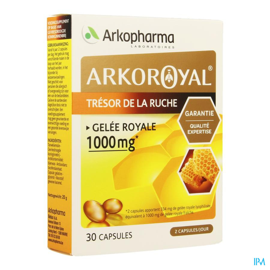 Arkoroyal Gelee Royale Blister Caps 2 X 15