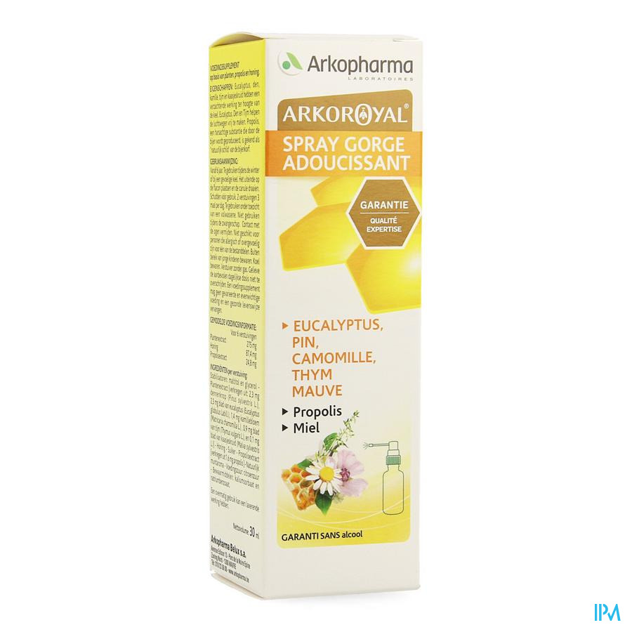 Arkoroyal Spray Adoucissant Gorge 30ml