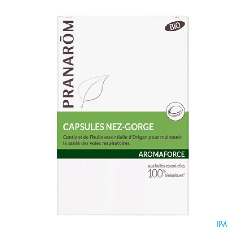 Aromaforce Nez Gorge Caps 30