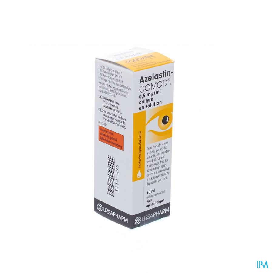 Azelastin-comod Gutt Ocul. 10ml