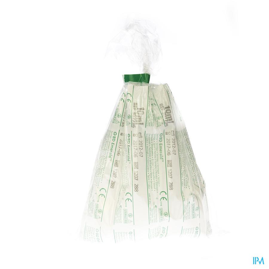 Bd Emerald Seringue 10ml Luer Slip 10 307736