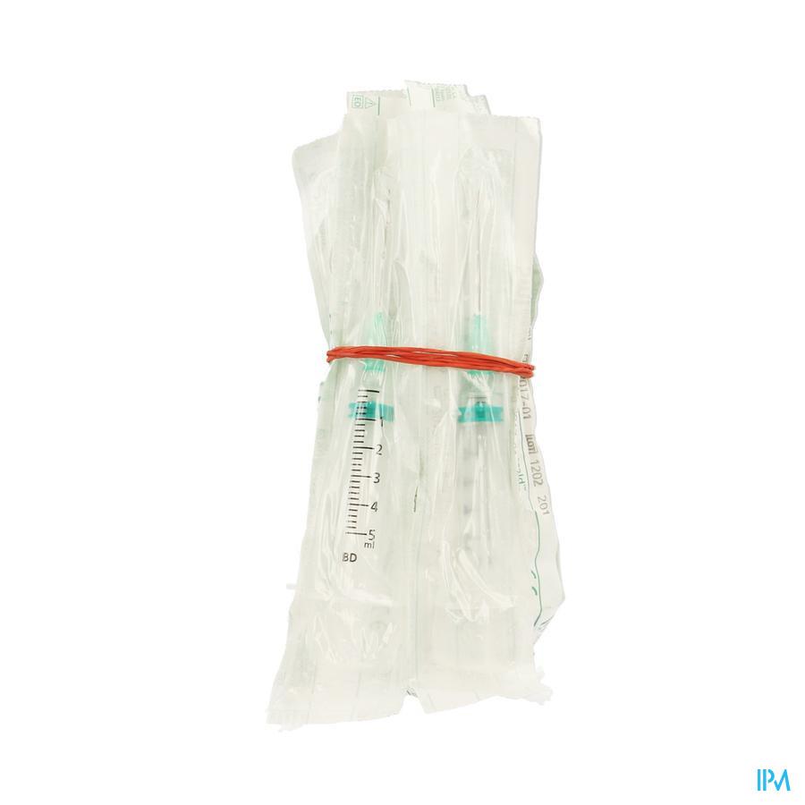 Bd Emerald Seringue 5ml+aig.21g 1 1/2 10 307732