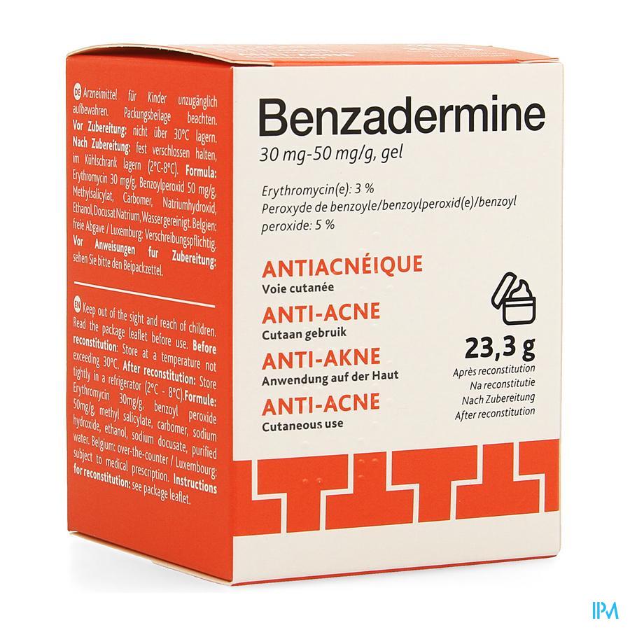 Benzadermine 30mg/50mg Gel Pot 23,3g
