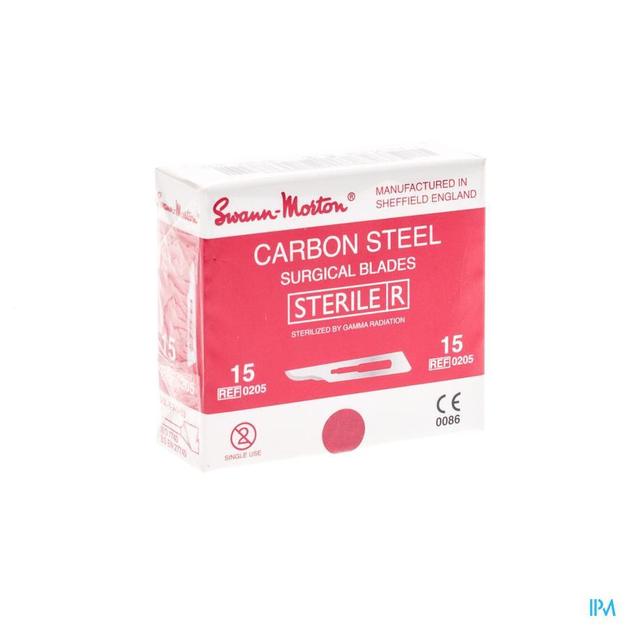 Bistouris S.m Lame Sterile N15 1 Wm