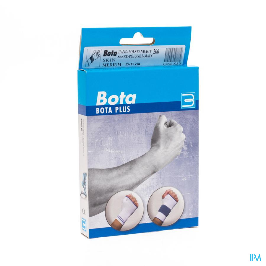Bota Serre-poignet-main 200 Skin M