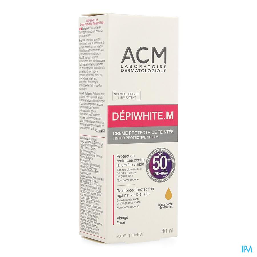Depiwhite M Creme Protect.teint.spf 50+ Tube 40ml