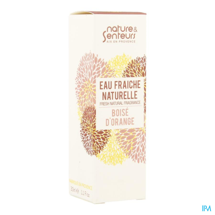 Eau Fraiche Naturelle Boise Orange 30ml