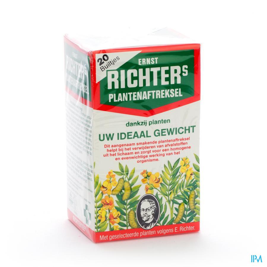 Ernst Richter Tisane Amaigrissante Filtre 20