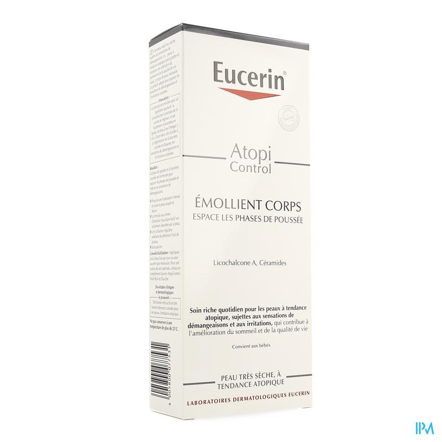 Eucerin Atopicontrol Emollient Corps Calmant 400ml