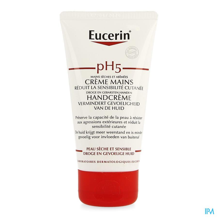 Eucerin Ph5 Peau Sensible Creme Mains 75ml