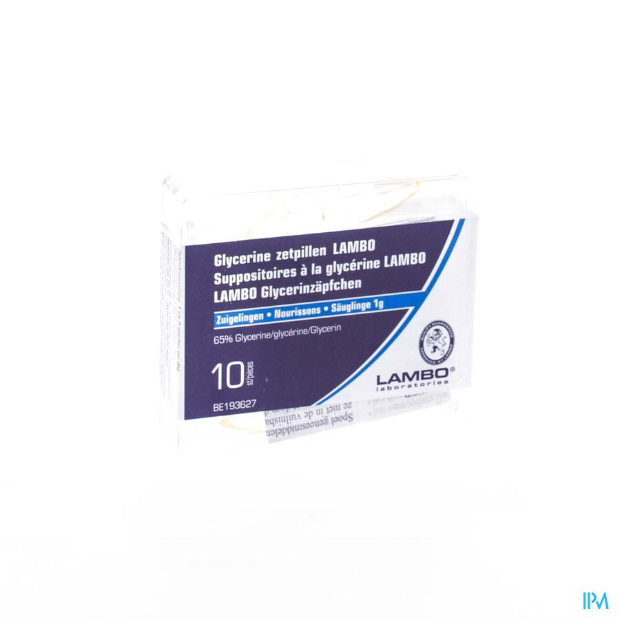 Glycerine Lambo Suppo Conique Bb 10