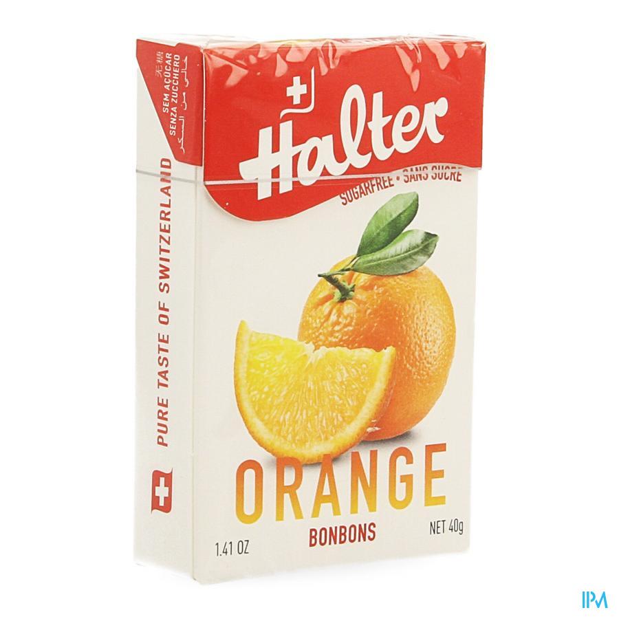 Halter Bonbon Orange Ss 40g