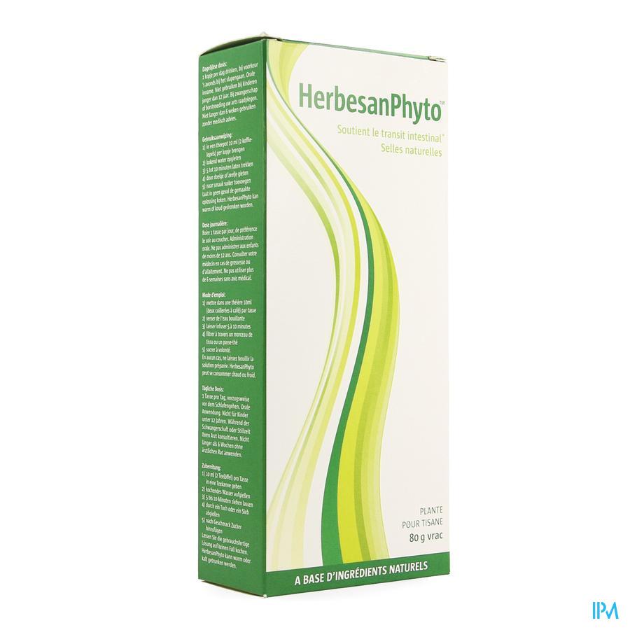 Herbesanphyto Plante Tisane Vrac 80g