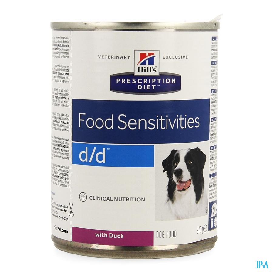 Hills Prescrip.diet Canine Dd Duck 370g 8003u