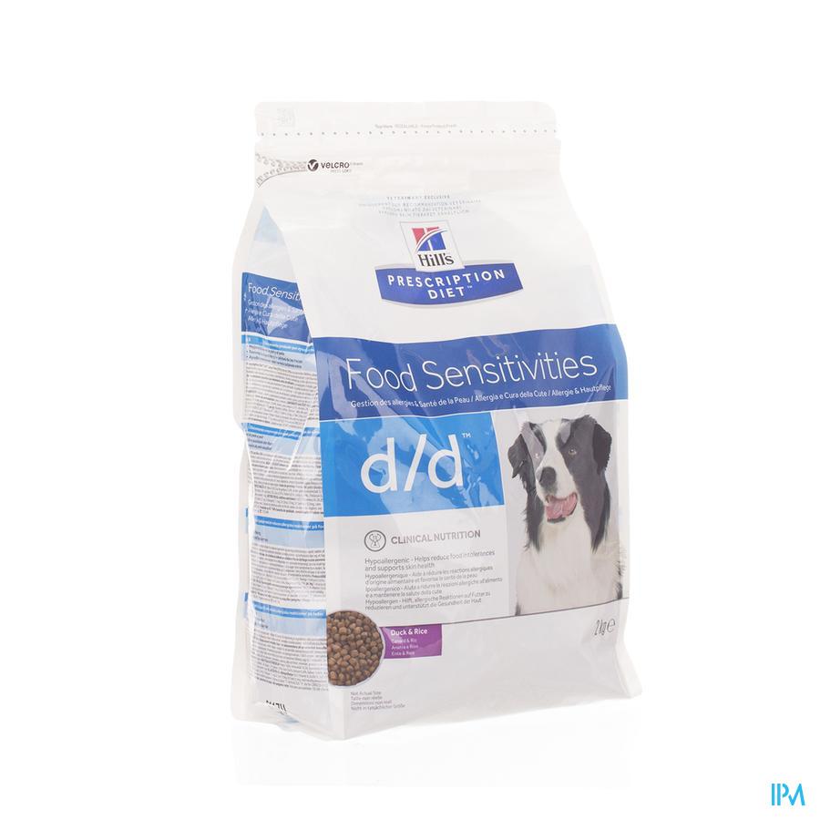Hills Prescrip.diet Canine Dd Duck&rice 2kg 9117u
