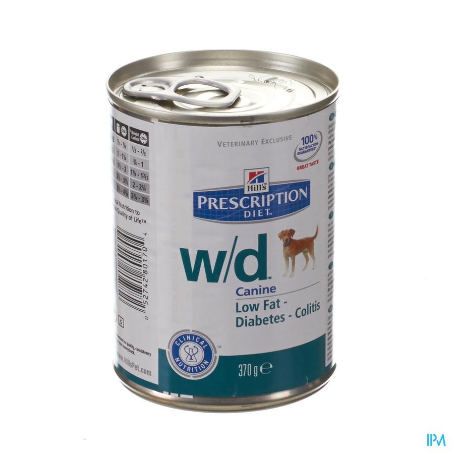 Hills Prescrip.diet Canine Wd 370g 8017u