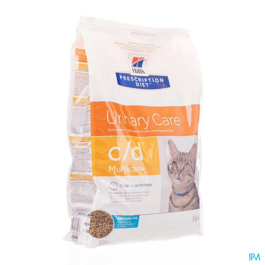 Hills Prescrip.diet Feline Cd Ocean Fish 5kg 6069r