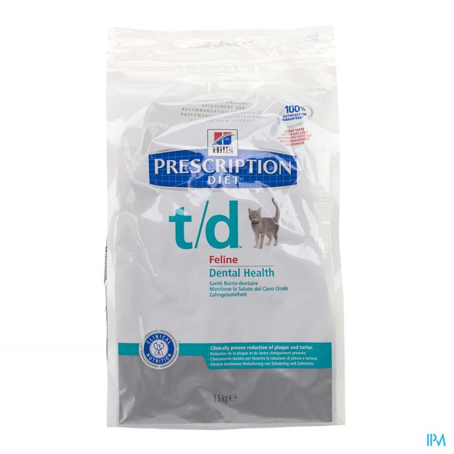Hills Prescrip.diet Feline Td 1,5kg 8688u