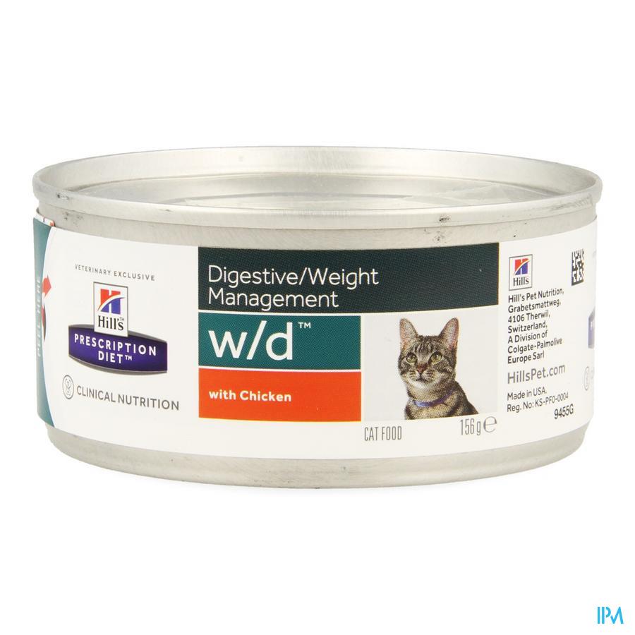 Hills Prescrip.diet Feline Wd Minced 156g 9455g