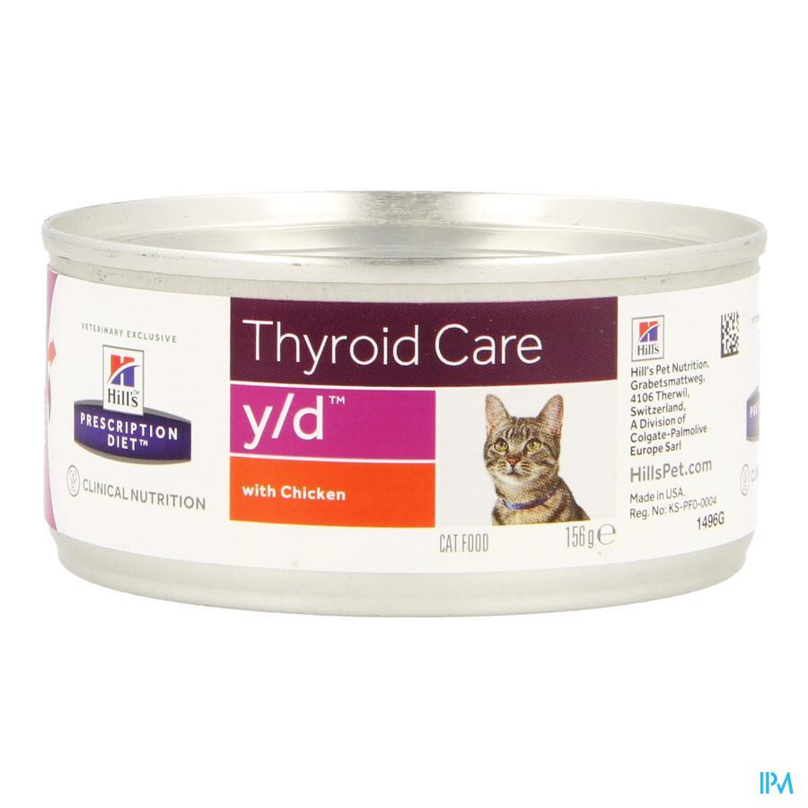 Hills Prescrip.diet Feline Yd 156g 1496g