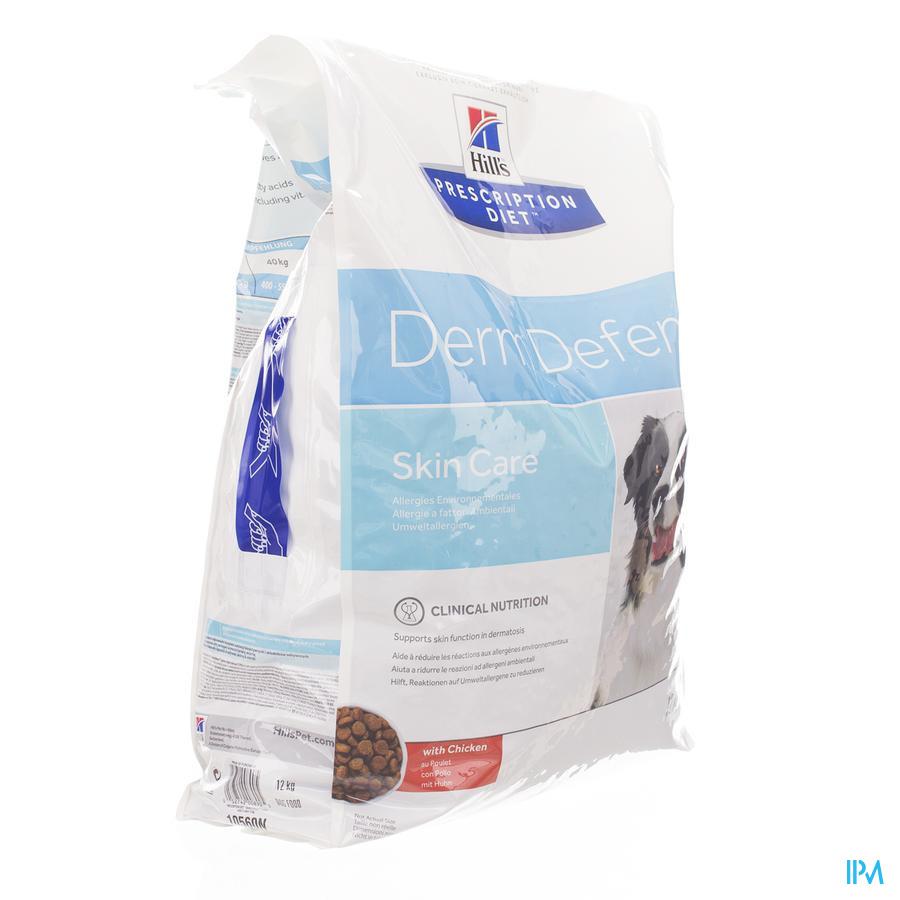 Hills Prescription Diet Canine Derm Defense 12kg
