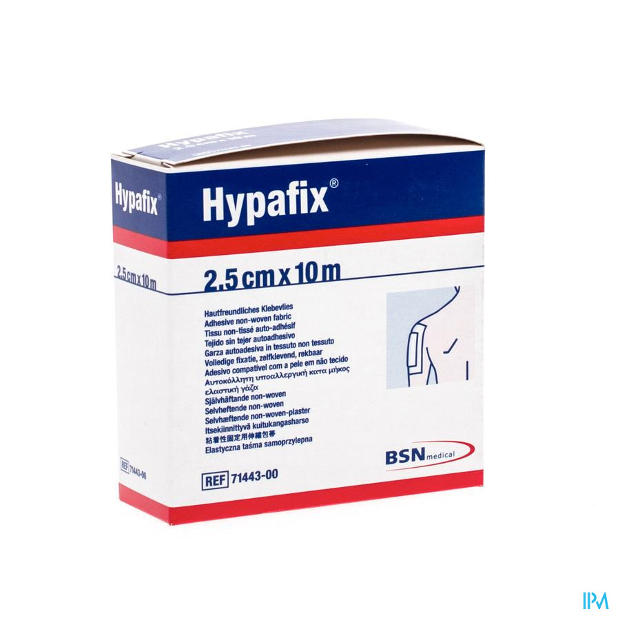 Hypafix 2,5cmx10,0m 1 7144300