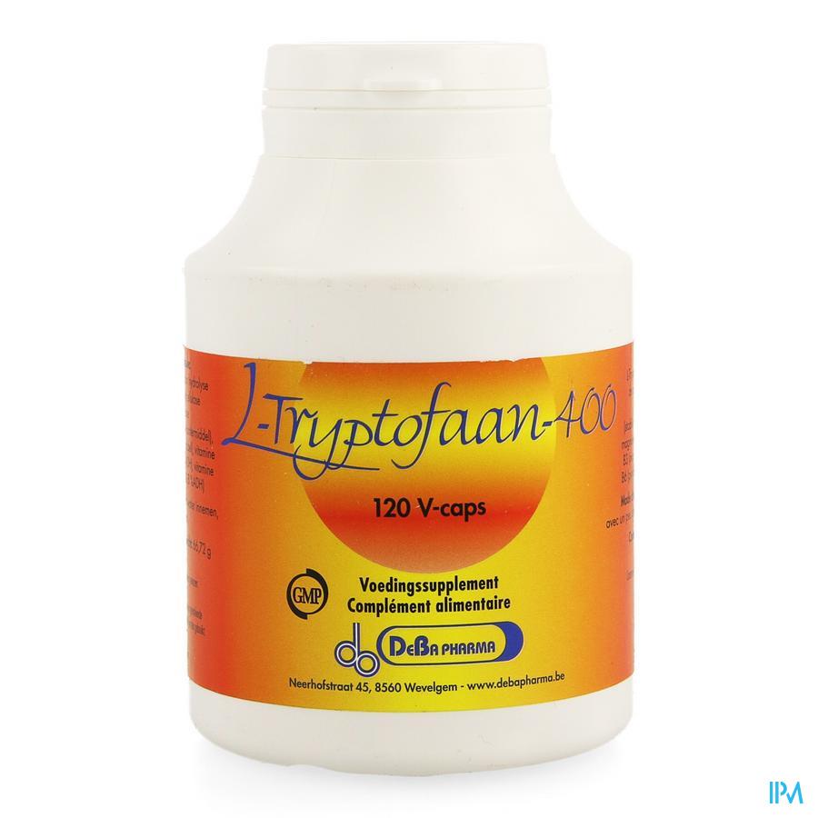l-tryptophane 400mg V-caps 120 Deba