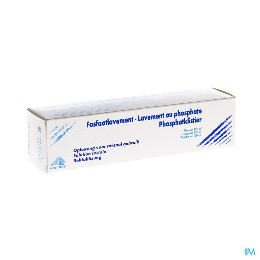 Lavement Au Phosphate 130ml