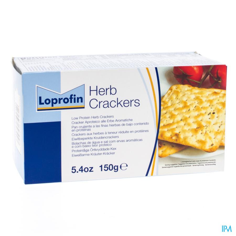 Loprofin Crackers Herbes 150g