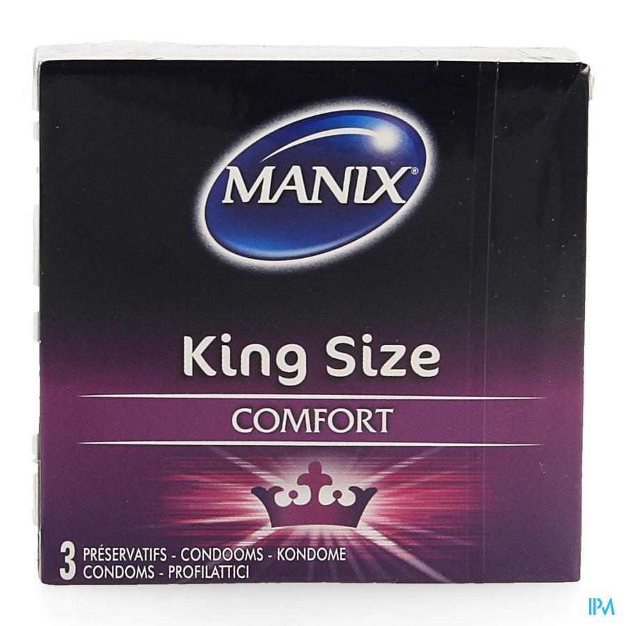 Manix King Size Preservatifs 3