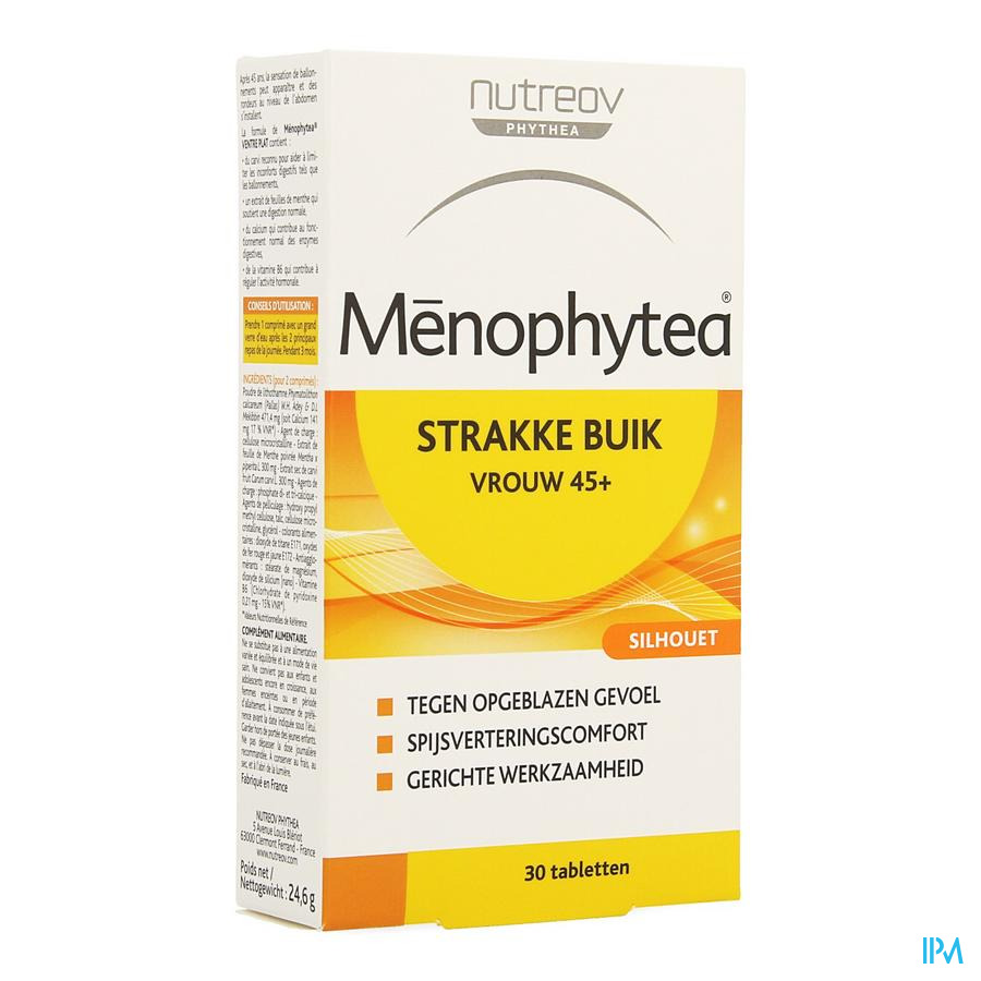 Menophytea Silhouette Ventre Plat Comp 30