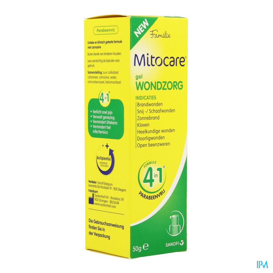 Mitocare Gel Blessure 50g