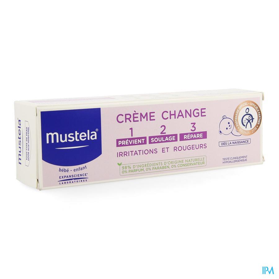 Mustela Bb Creme Change 1-2-3 100g