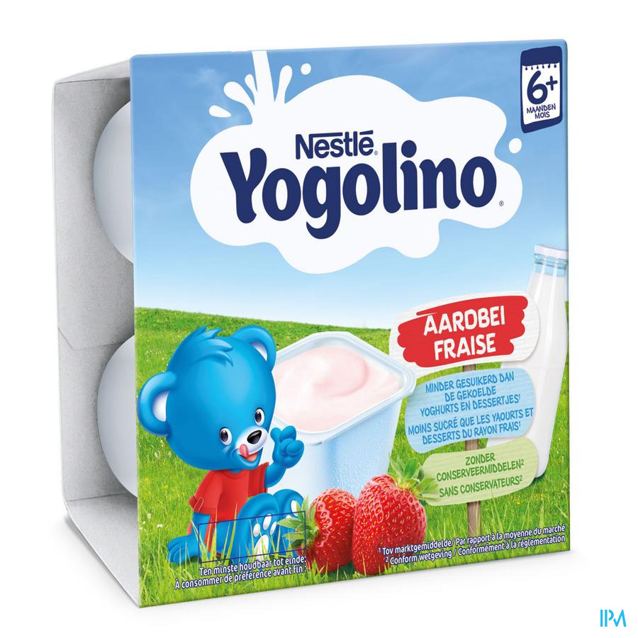Nestle Baby Yogo Fraise 4x100g