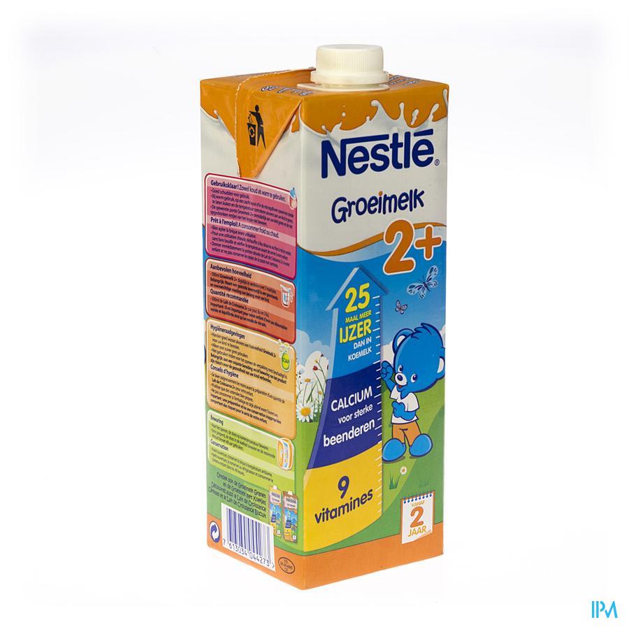 Nestle Lait Croissance 2+ Tetra 1l