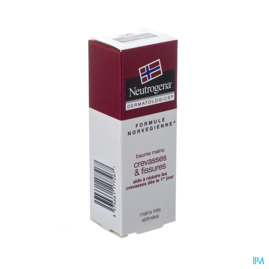 Neutrogena F/n Baume Mains Crevasses&fissures 15ml