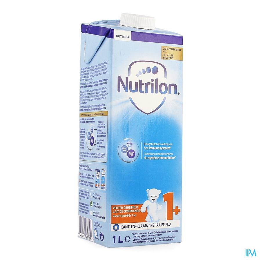Nutrilon Lait Croissance +1ans Nf Tetra 1l