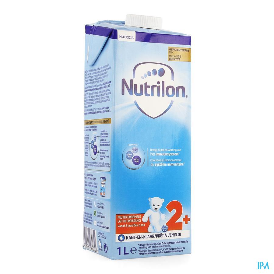 Nutrilon Lait Croissance +2ans Nf Tetra 1l