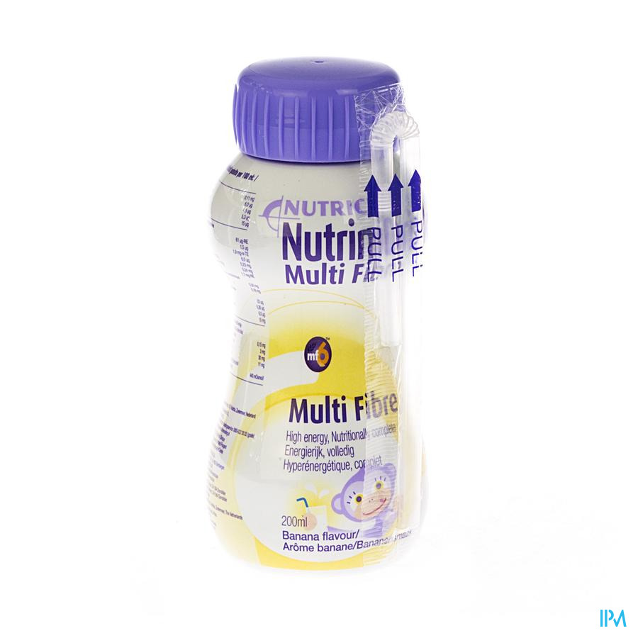 Nutrinidrink Banane Multi F. +12m Fl 200ml 65595