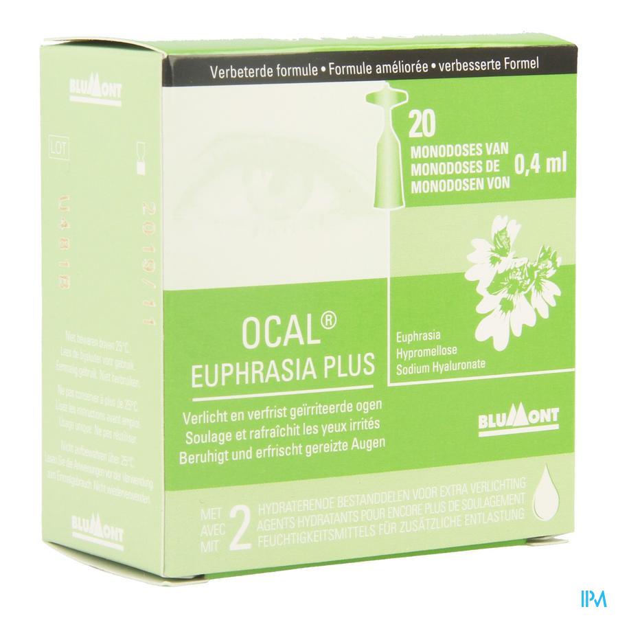 Ocal Euphrasia Plus Monodoses 20