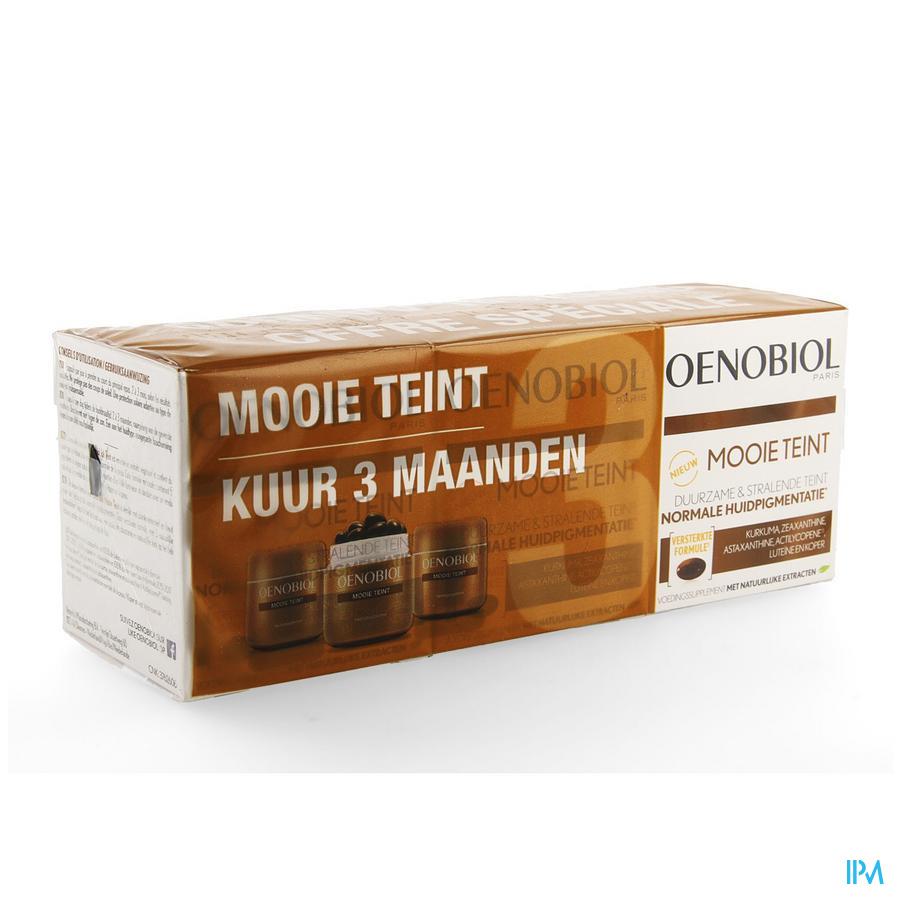 Oenobiol Joli Teint Cure Caps 3x30 Nf