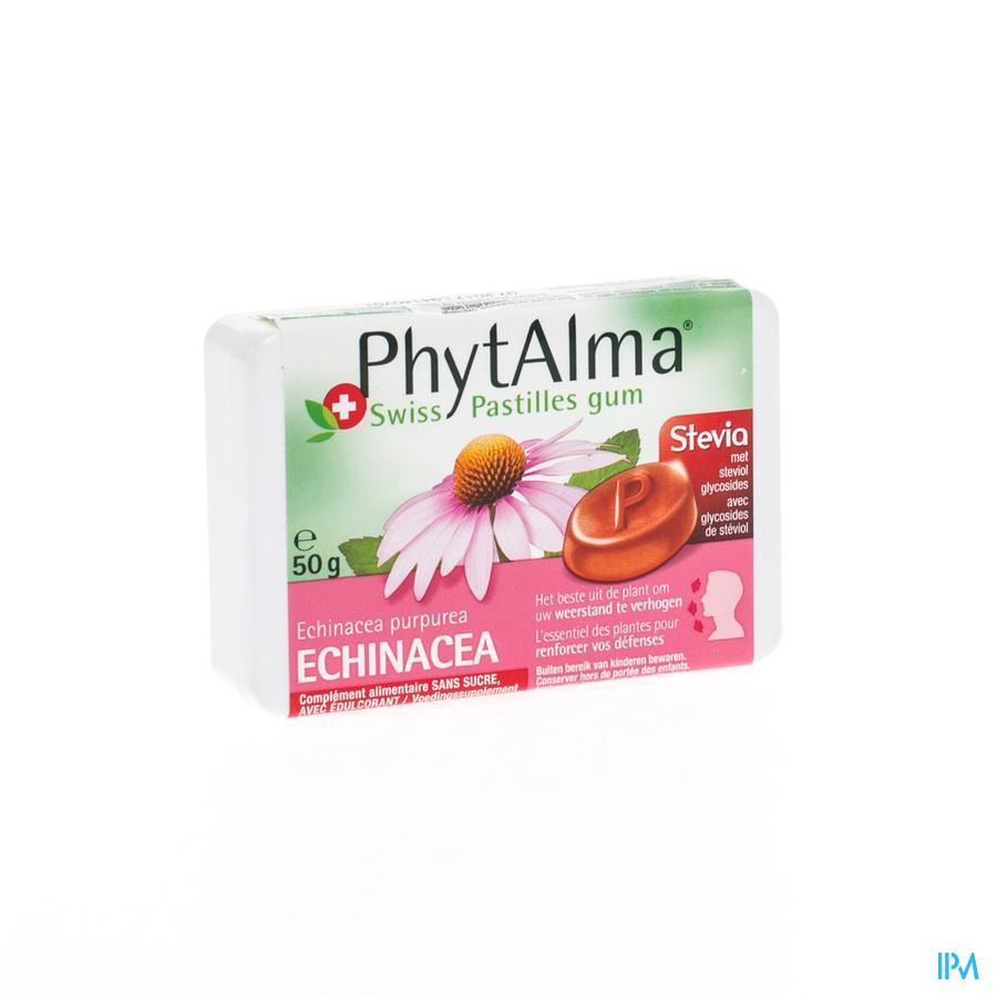 Phytalma Pastilles Gum Extr.echinace + Stevia 50g