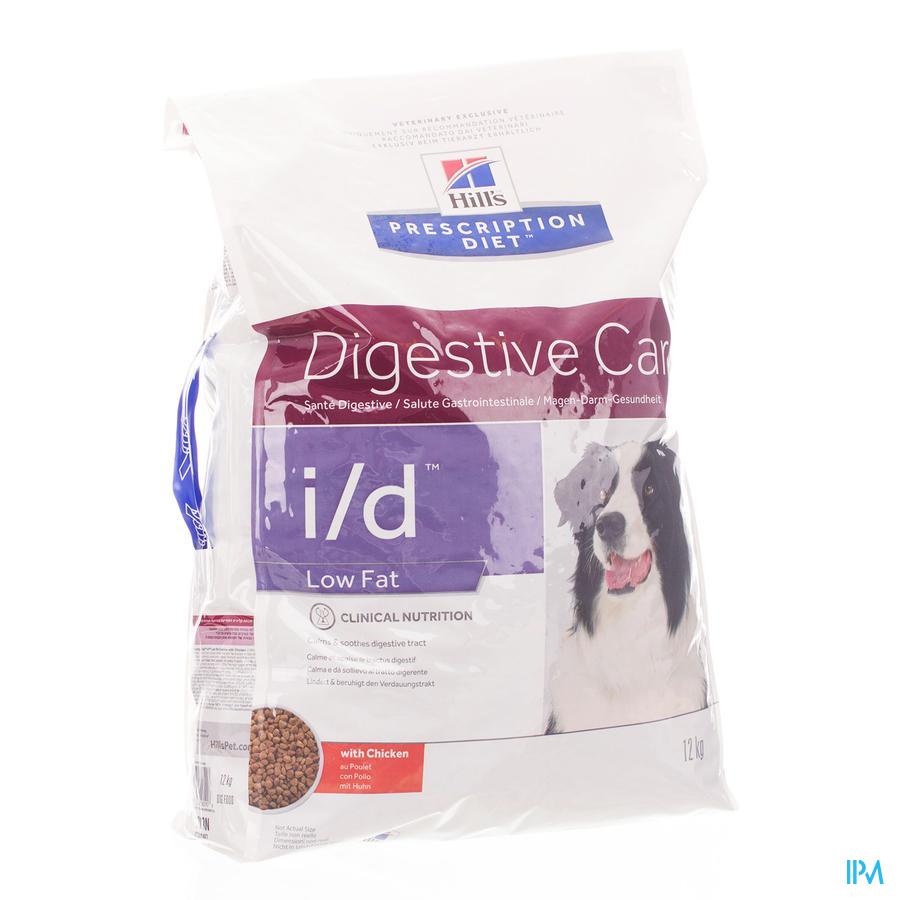 Prescription Diet Canine I/d Low Fat 12kg