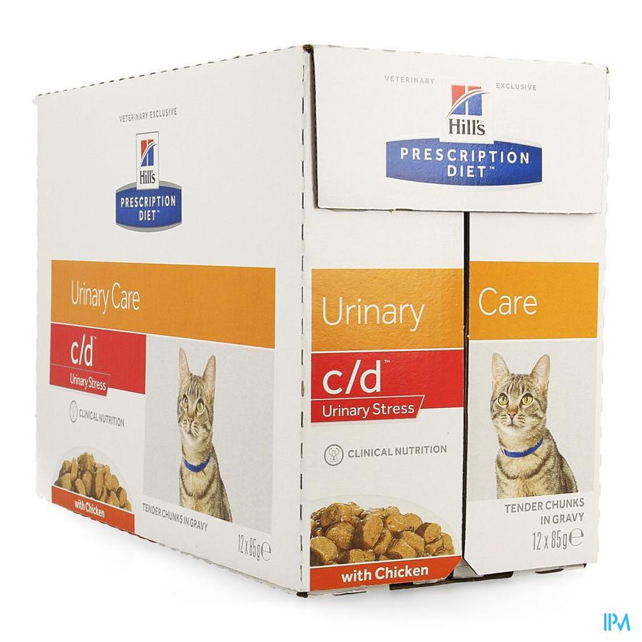 Prescription Diet Feline C/d Stress Chicken 12x85g