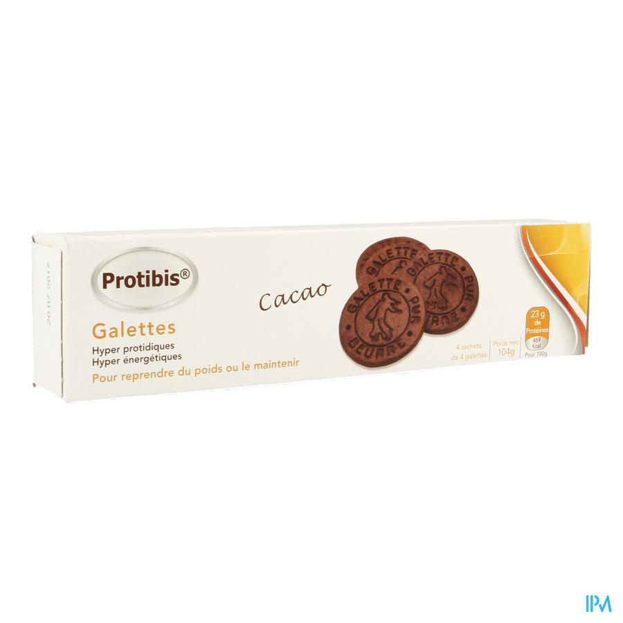 Protibis Biscuit Hp-hc Cacao 4x4